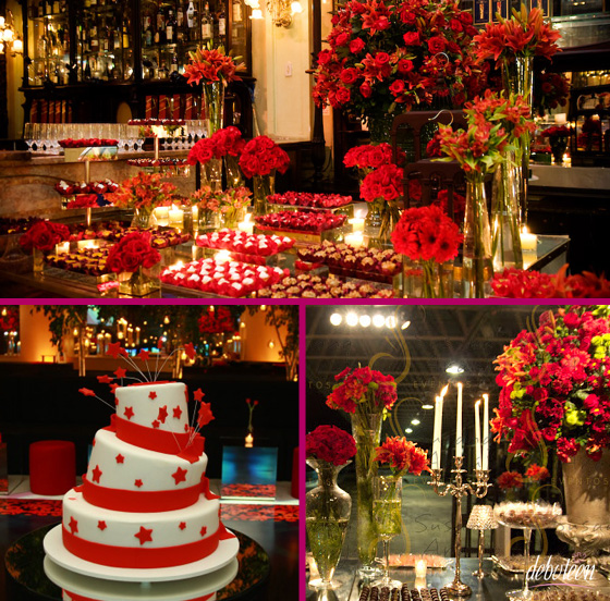 Festa Vermelha de debutante