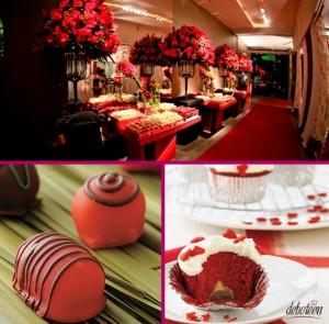 Festa Vermelha de debutante!
