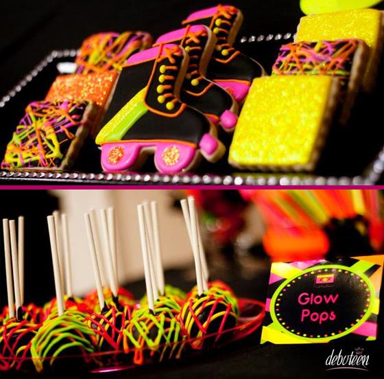 decoracao festa glow: festa mais marcante e inesquecível ela será. É muito legal quando a