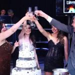 Festa azul, Rosa e Preto Debutante Amanda Teixeira