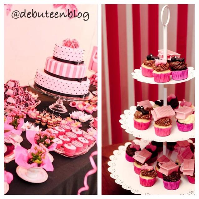 Festa Rosa! Sempre um charme! ?????? www.debuteen.com.br ? #debutantes #pink #party #festa #rosa #debuteenblog