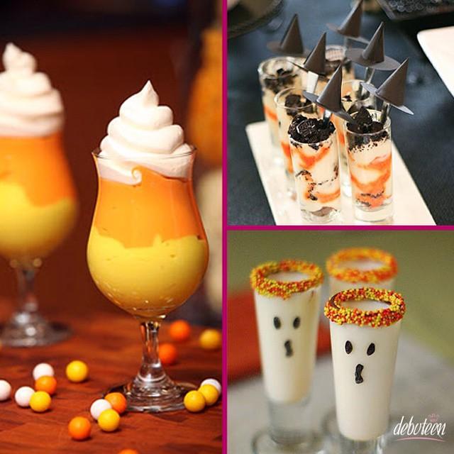 Drinks para Festa Halloween! #party #drinks #debuteenblog #halloween