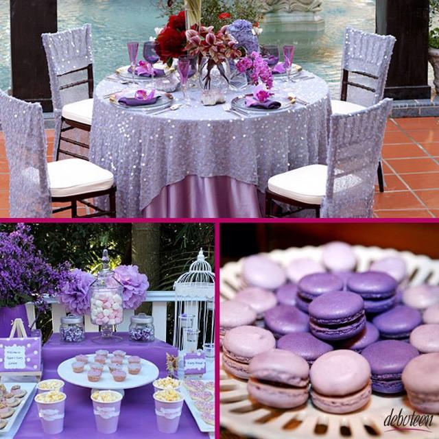 Festa lilás! #lilac #decoração #lilás #party #festa #debutantes #debuteenblog