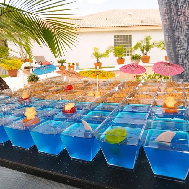 Delicias para a sua Pool Party! #pool #party #temas #debuteenblog